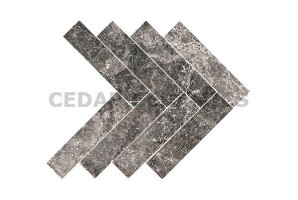 Silver Moon Herringbone Tile