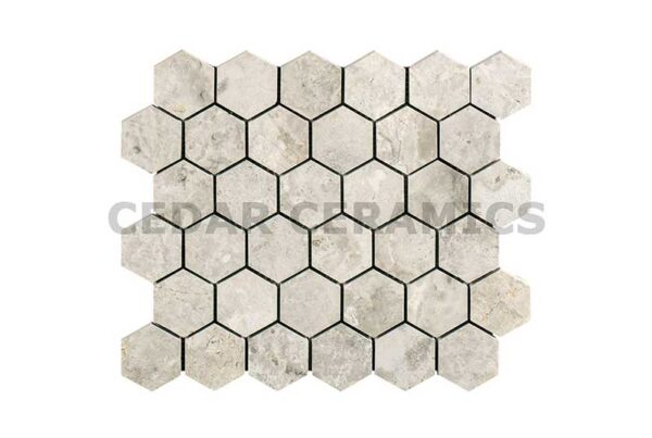 Silver Light Hexagon