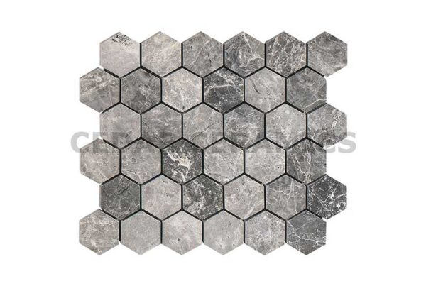 Silver Moon Hexagon